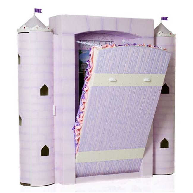 Purple Drawbridge Bed