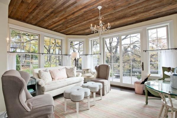 Refined LLC Reclaimed Wood Ceiling