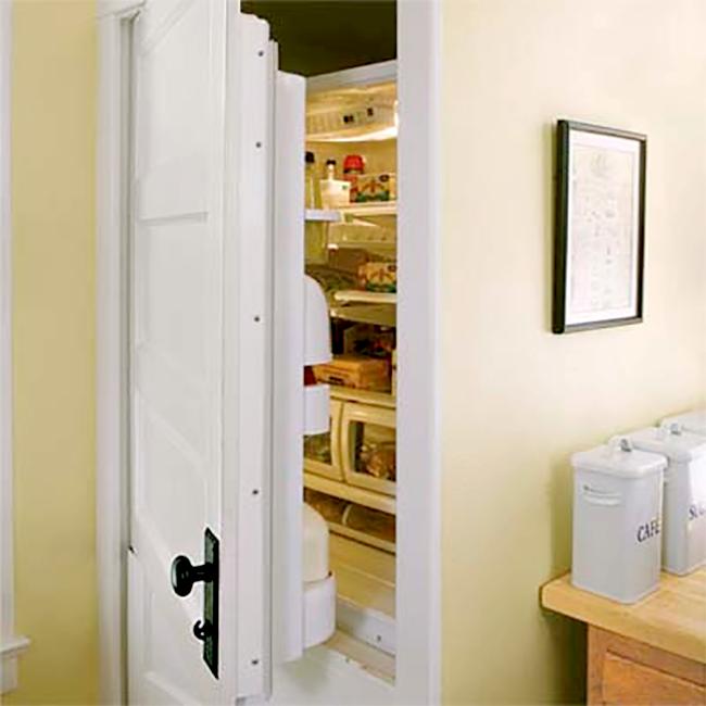 Refrigerator Door Made of Regular Door