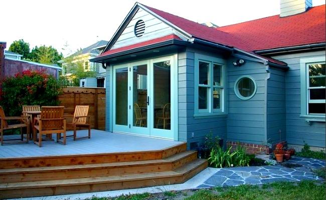 Rockridge Cottage porch