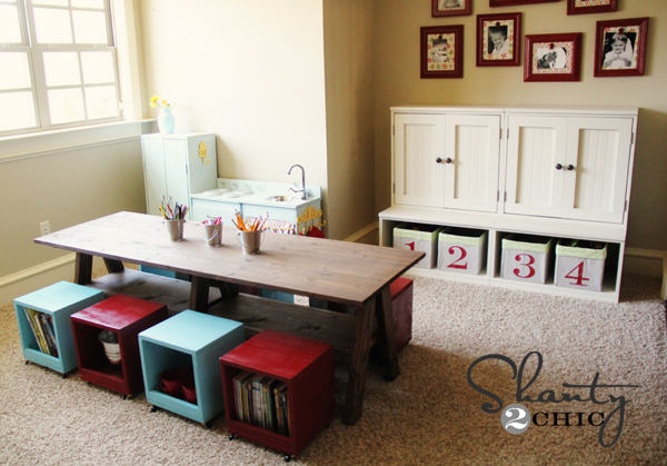 7 Basement Ideas On A Budget Chic Convenience For The Home: 8 DIY Storage Ideas To Keep Your Child's Toys From Taking