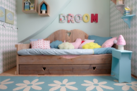Rustic Children's Daybed  8 Dreamy Daybeds That Do Double Duty as Seating Rustic Childrens Daybed 270x180