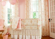 Shabby-chic-baby-girls-bedroom-in-pink-217x155