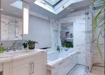 Skylight-breathes-life-into-the-smart-contemporary-white-bathroom-217x155