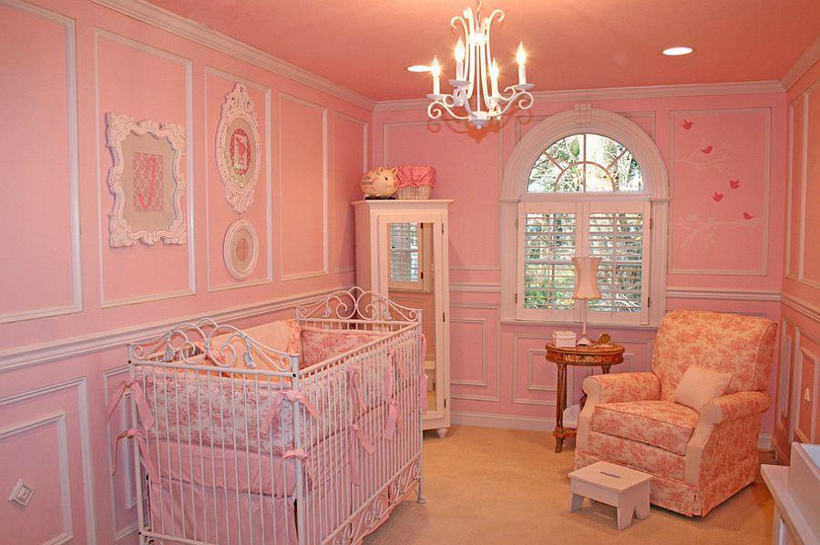 Small pink nursery design [Design: Jack and Jill Interiors]