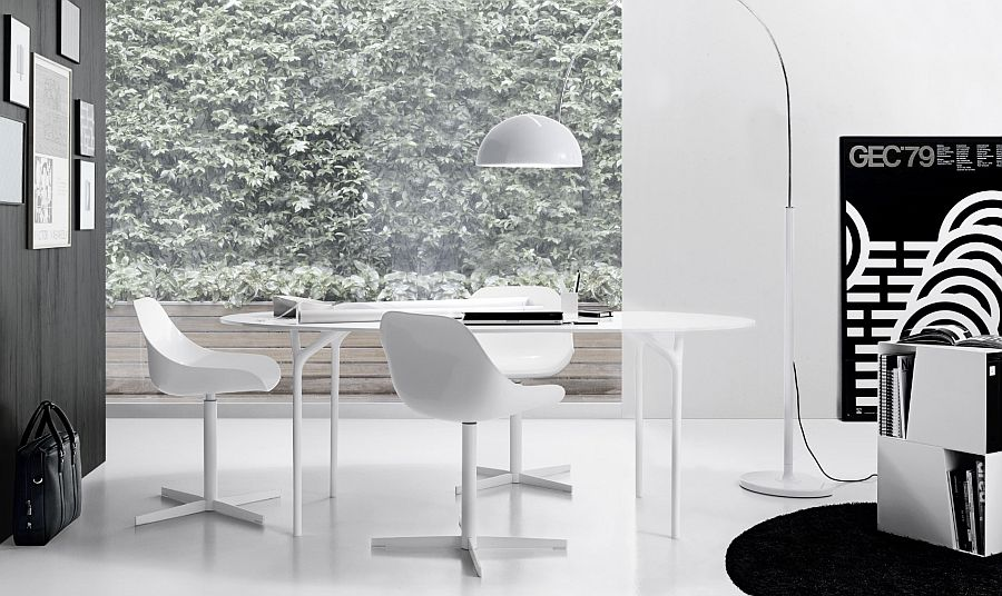 Smart table works equally well in both dining rooms and home offices