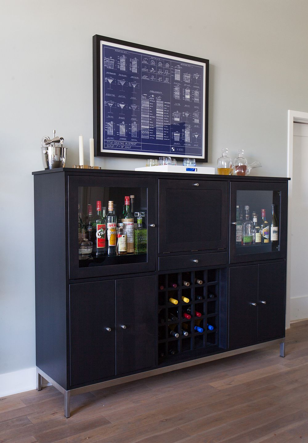 Smart way to create a simple home bar