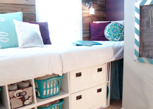 Storage Daybed with Purple Accents 217x155 8 Dreamy Daybeds That Do Double Duty as Seating