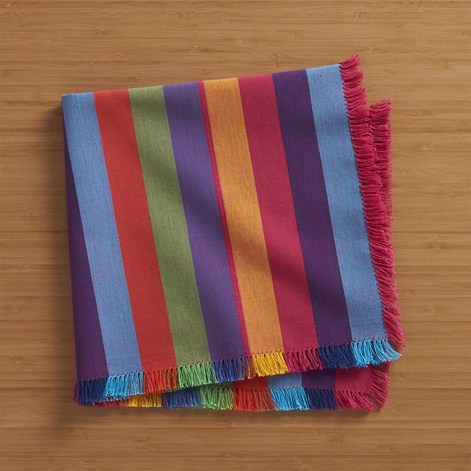 Striped napkins from CB2