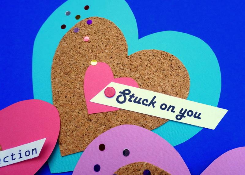 Stuck on you, Valentine!