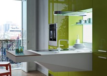 Stylish kitchen workstation saves up on space even while providing unmatched functionality