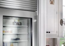 Sub Zero Steel Refrigerator