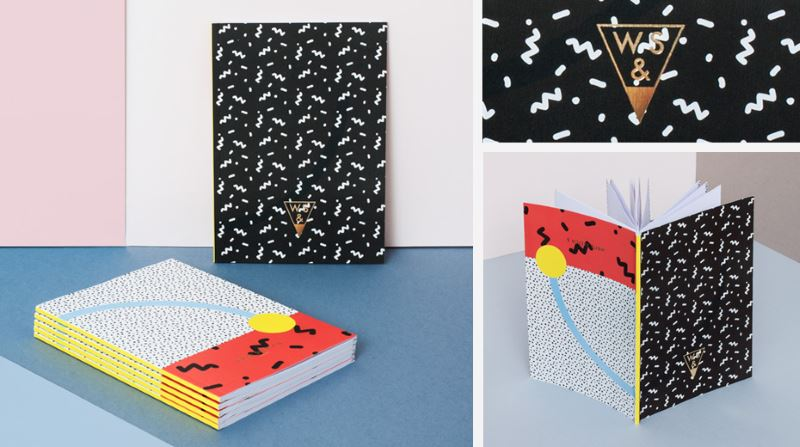 Super Confetti notebooks from Write Sketch &