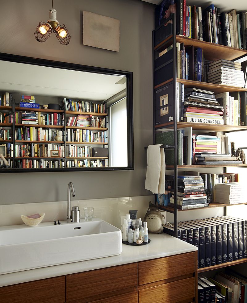 Home Design Ideas Book: 15 Ingenious Bathrooms That Embrace Your Love For Books