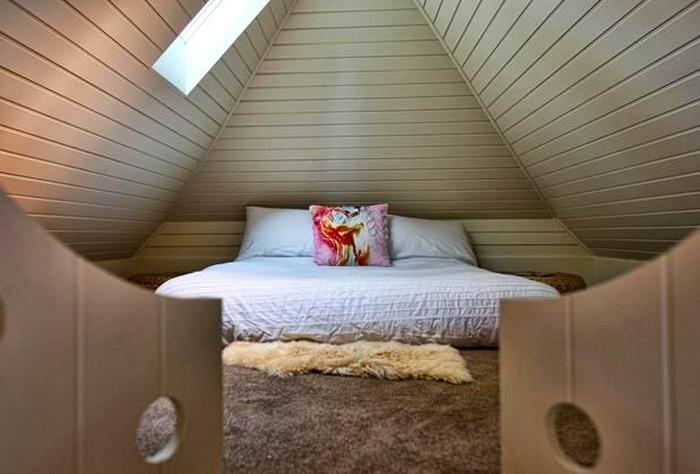 Tudor cottage loft bedroom