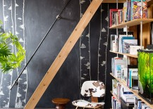 Turn the chalkboard wall into a work of art