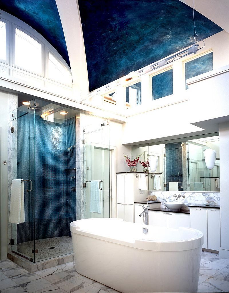 cool bathroom designs 15 eclectic bathrooms with a splash of delightful blue 6360