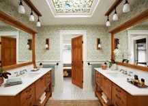 Use-a-skylight-that-blends-in-with-the-style-and-the-theme-of-your-existing-bathroom-217x155