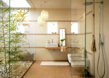 Zen Bamboo Bathroom offers a tranquil retreat