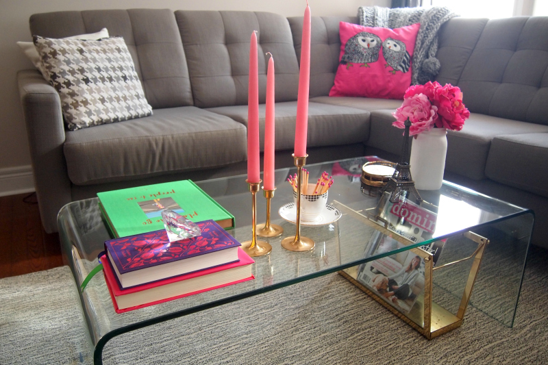 How to Decorate with Pink: candles