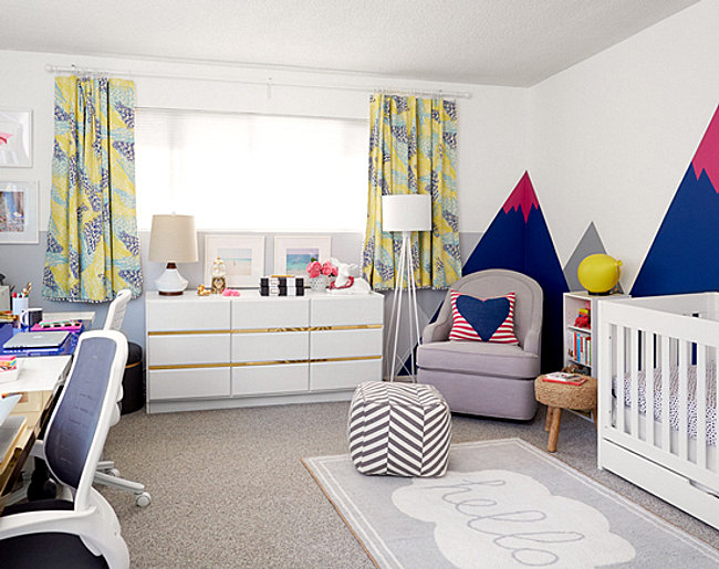 A nursery makeover by Emily Henderson