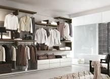 A walk-in closet design that oozes luxury