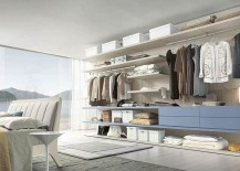 All you need is an open wall to shape a stunning bedroom closet
