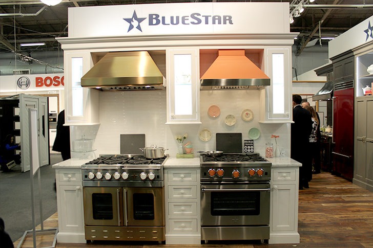 Architectural Digest Home Design Show 2015 Blue Star Kitchen Decoist