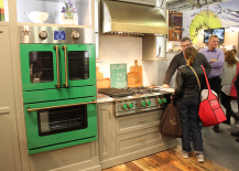 Architectural Digest Home Design Show 2015 Colorful Green Kitchen 217x155 6 Hot Interior Design Trends Spotted at the 2015 Architectural Digest Home Design Show