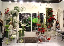 Architectural Digest Home Design Show 2015 Flower Display