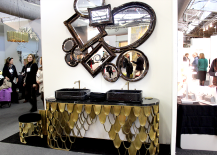 Architectural Digest Home Design Show 2015 Funky Mirrors