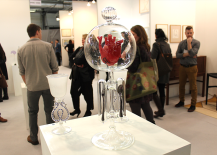 Architectural Digest Home Design Show 2015 Glass Heart