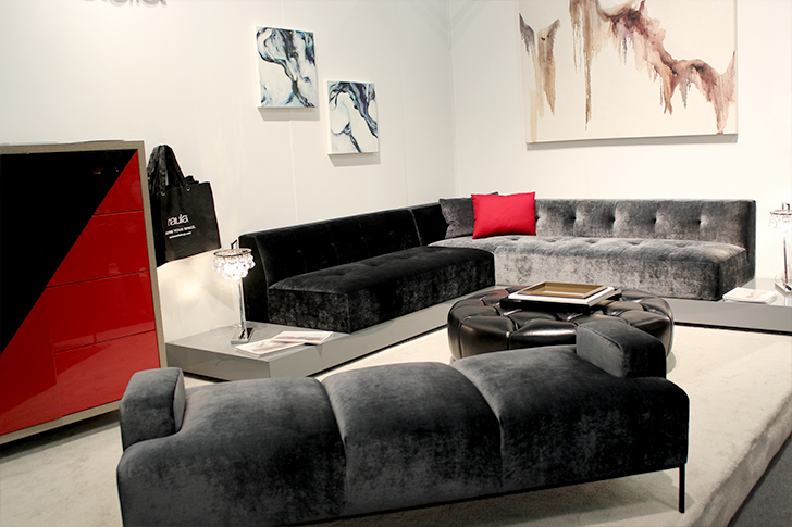 Architectural Digest Home Design Show 2015 Naula Couches