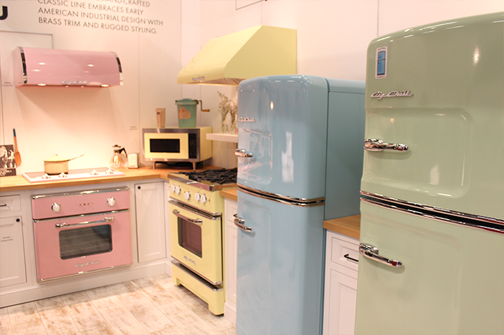 Architectural Digest Home Design Show 2015 Pastel Kitchen Big Chill
