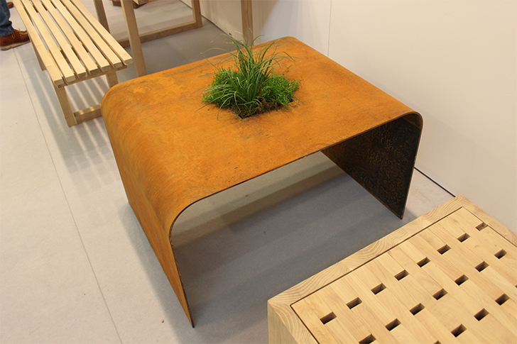 Architectural Digest Home Design Show 2015 Planted Table