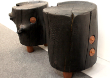 Architectural-Digest-Home-Design-Show-2015-Reclaimed-Wood-Stools-217x155