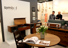 Architectural Digest Home Design Show 2015 Symbol Audio Integrated Furniture