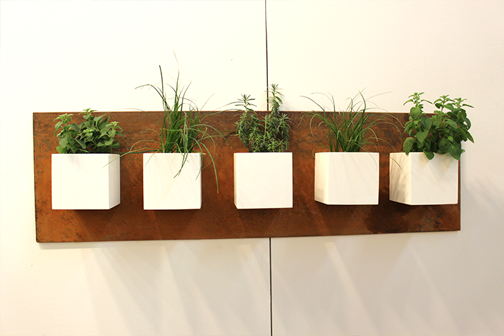architectural digest home design show 2015 wall greenery - Home Design Wall