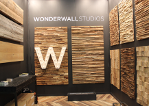 Architectural Digest Home Design Show 2015 Wonderwall Reclaimed Wood