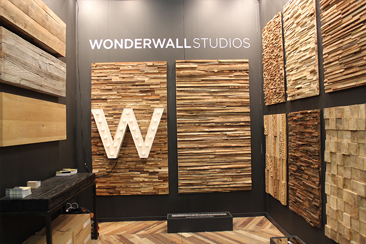 View In Gallery Architectural Digest Home Design Show 2015 Wonderwall  Reclaimed Wood