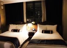 Art Deco Bedroom at Jade Hotel