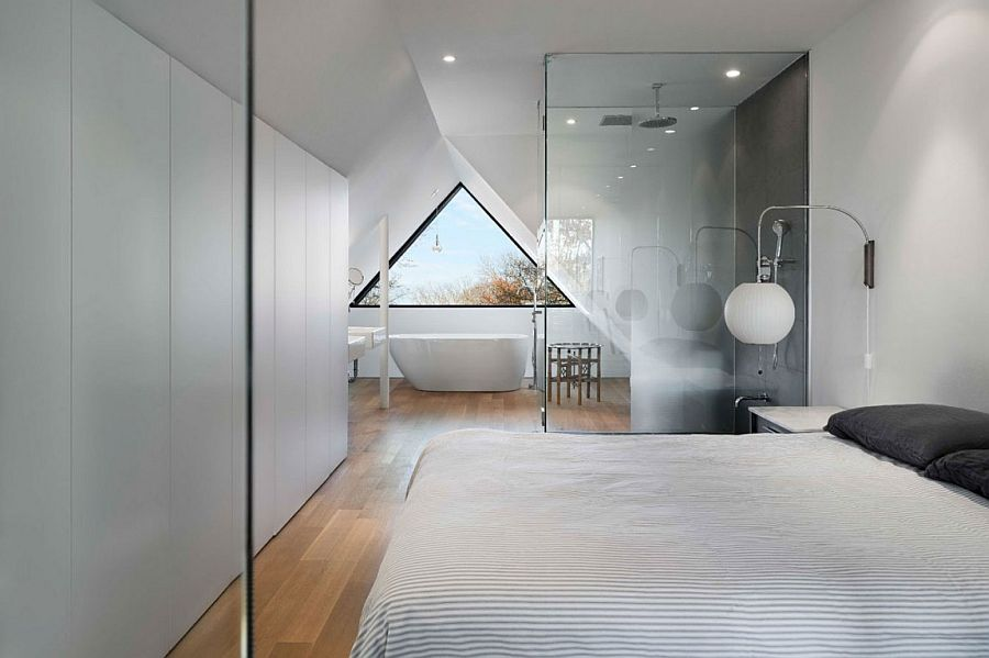 Attic turned into master bedroom with ensuite
