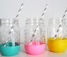 Balloon Mason Jar DIY