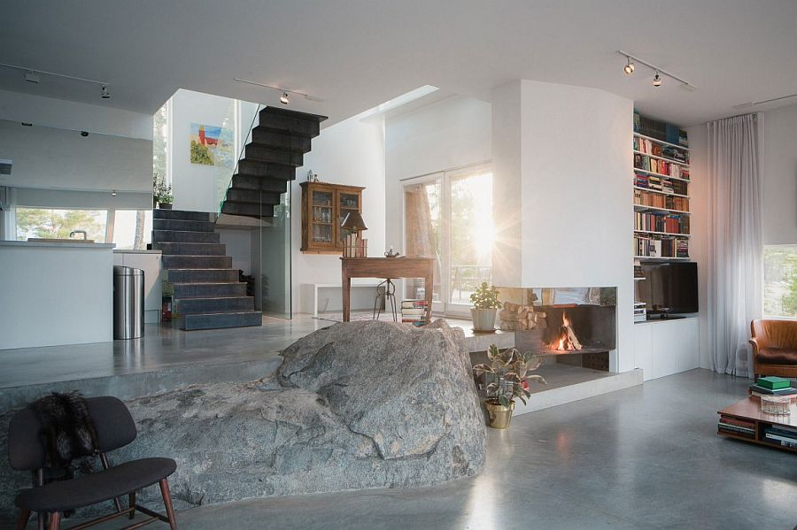Beautiful Swedish home combines the natural with the modern