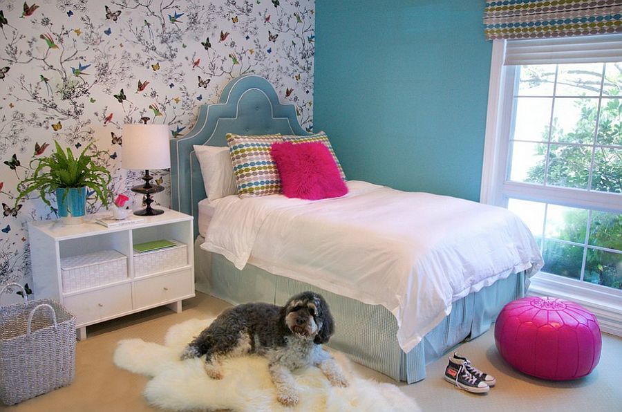 beautiful bedrooms for kids.  Beautiful bedroom exudes chic sophistication Design JAC Interiors 21 Creative Accent Wall Ideas for Trendy Kids Bedrooms