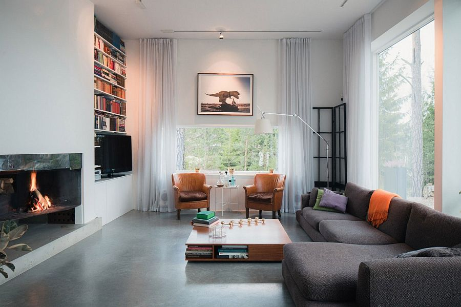 Inspired Modern Home in Sweden by Gabriel Minguez