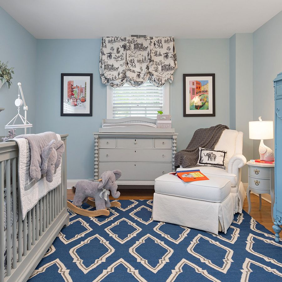 25 brilliant blue nursery designs that steal the show for Bedroom ideas for baby boys