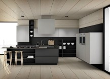 Black brings sophisticated beauty to the modern kitchen