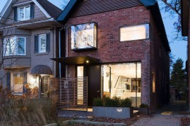 Brick exterior of the home keeps is timeless appeal intact