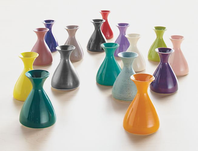 Bright modern vases from Room & Board